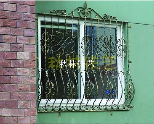 锻打铁艺窗